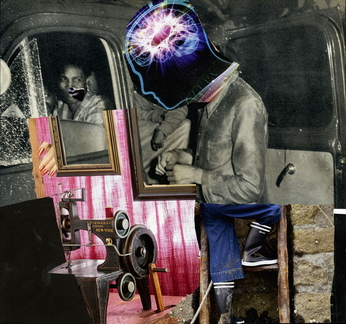 At work, collage 072/20